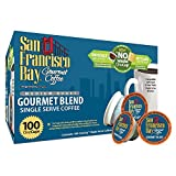 #6: San Francisco Bay Single Serve Coffee Gourmet Blend 100 Count