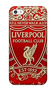 Hot Snap-on Liverpool Fc Logo Desktop Hard Cover Case/ Protective Case For Sam Sung Galaxy S4 I9500 Cover