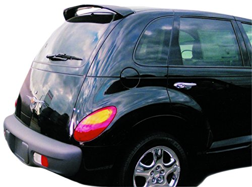 JSP Painted Rear Wing Spoiler Compatible with 2001-2010 Chrysler PT Cruiser S2 - WS2 Bright Silver Metallic Factory Style 17229 ()