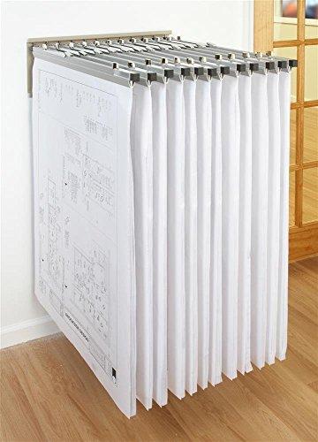 Brookside Design WRWH Heavy Duty Pivot Wall Rack with 12 Pivot Hangers ()