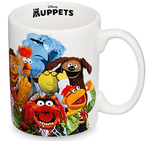 Disney Parks The Muppets Multi Character Ceramic Mug Cup NEW Beaker Miss Piggy