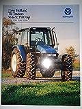 New Holland TL70 TL80 TL90 TL100 Tractor Sales Brochure 1/99