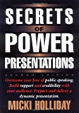 Secrets of Power Presentations, Micki Holliday, 1564144380
