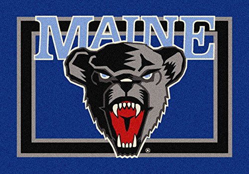 NCAA Team Spirit Door Mat - Maine Black Bears, 56'' x 94'' by Millilken