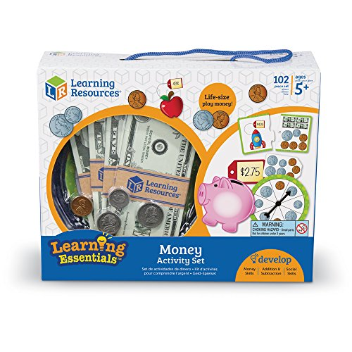 513 gfY6%2B L - Learning Resources Money Activity Set, 102 Pieces
