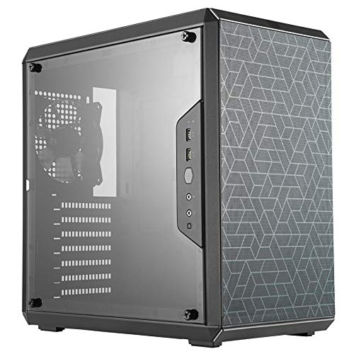 Cooler Master MasterBox Q500L Black Mini Tower Case (M-ITX/M-ATX/ATX)