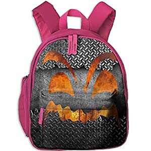 Halloween Grimace Hot Sale Child Shoulder School Bag School Backpack School Daypack For Teens Boys Girls Students Pink