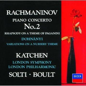 ラフマニノフ:ピアノ協奏曲第2番、他