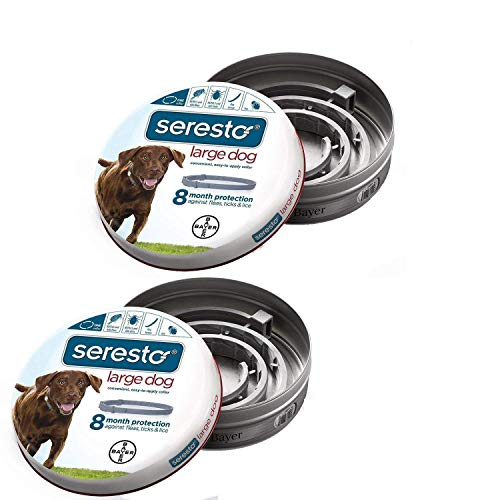 Large Product Image of Bayer Seresto Flea and Tick Collar, Large Dog, 2-Pack