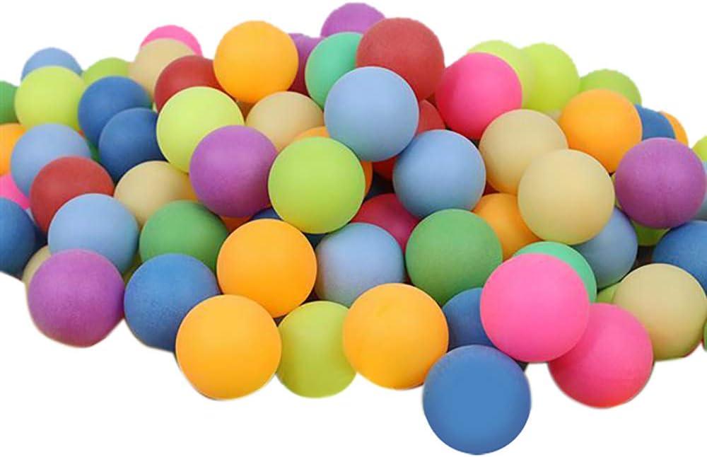 color azul pl/ástico, lavables 100 pelotas de ping-pong para cerveza
