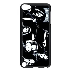 CTSLR Band Metallica Protective Hard Case Cover Skin for iPod Touch 5 5G 5th Generation- 1 Pack - Black/White -6 by mcsharks
