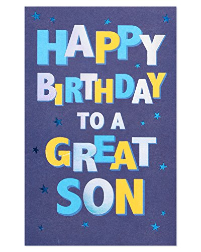American Greetings Celebrate Birthday Greeting Card for Nephew with Foil