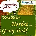 Verklärter Herbst   Georg Trakl