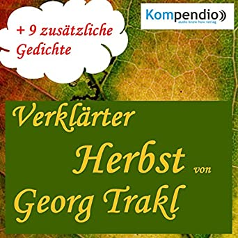 Amazoncom Verklärter Herbst Audible Audio Edition Georg
