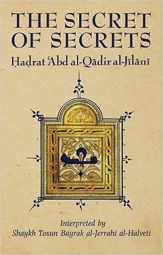 The Secret Of Secrets Golden Palm Series By Al Jilani Abd Qadir 1997 Paperback Amazon Books