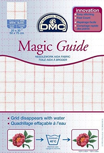 14 Count Magic Guide 20×30 Inches (50x75cm) – Blanc – DC28MG