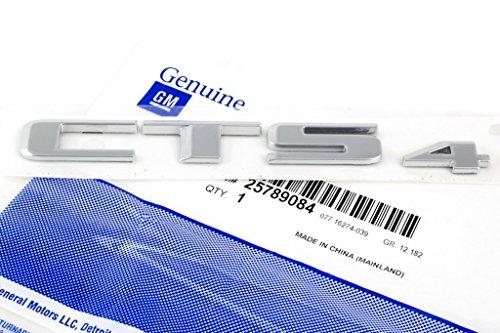 OEM NEW Rear Trunk Decklid Emblem Nameplate Chrome 08-14 Cadillac CTS4 25789084