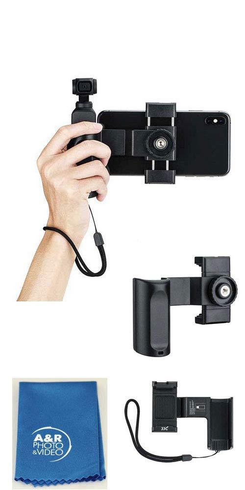 JJC HG-OP1 Pocket Smartphone Bracket Comfortable Grip Hand Shoe Mount for DJI OSMO by JJ