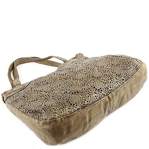 Taschendieb Wien Tasche - Cow Crust Handbag - Military