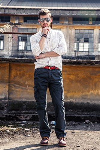 INFLATION Confortable Breathable Outdoor Cargo Pants With Lots Of Pockets Size 33