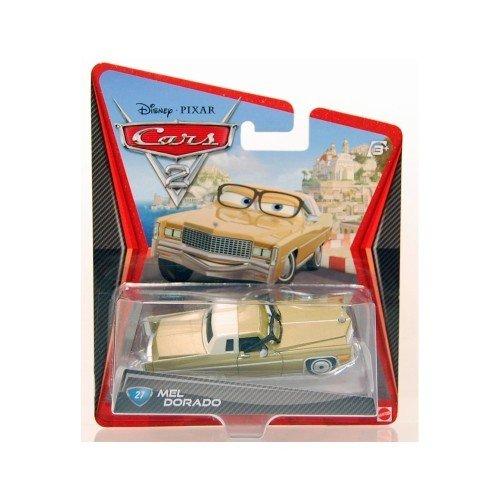 Disney / Pixar CARS 2 Movie 155 Die Cast #27 Car Mel Dorado -