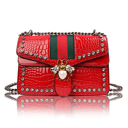Red Designer Handbags - 9