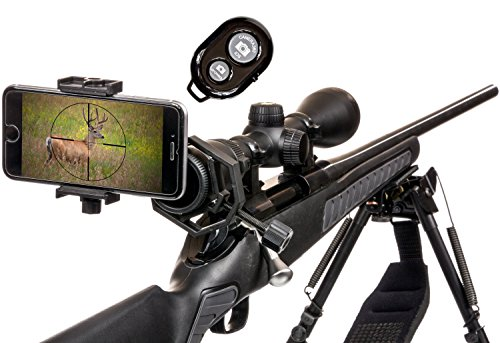 Spotting-Scope-Phone-Adapter-Kit-Universal-Digiscoping-Binocular-Telescope-Microscope-Monocular-w-BT-Remote-Make-your-Scope-a-Wireless-Camera