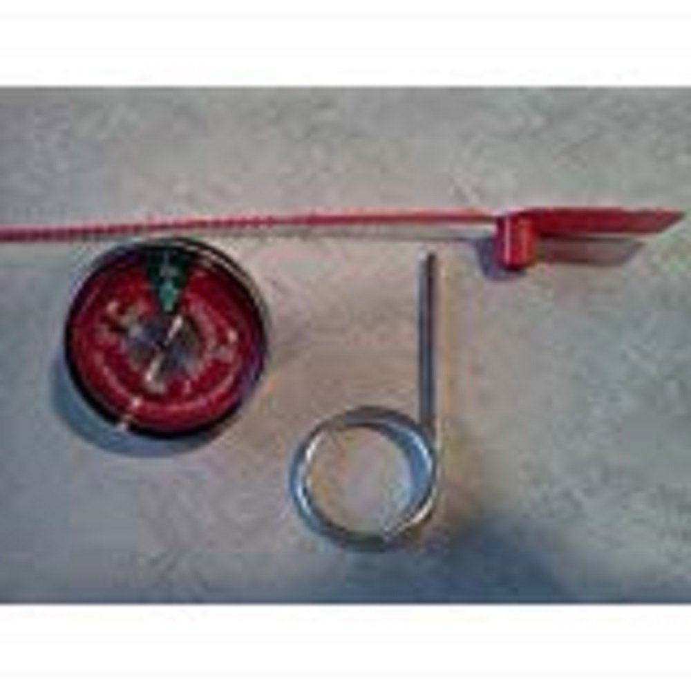 5 - 100 psi. Pressure Gauges, 5 - Seals & 5 - Pull Pins For Water Pressure Fire Extinguishers