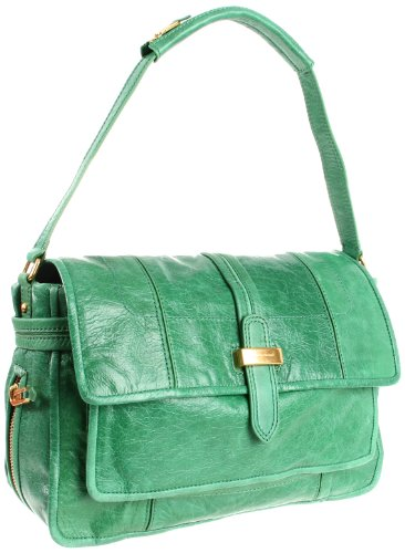 Juicy Couture Blue Print Shoulder Bag,Green,One Size