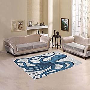 513-lG5fSIL._SS300_ 50+ Octopus Rugs and Octopus Area Rugs For 2020