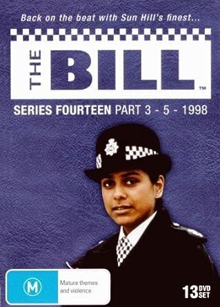 The Bill ITV Drama - Series 14 part 3 , 4 & 5 DVD 1998