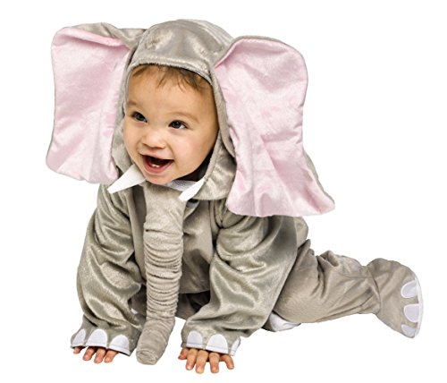 Baby Cuddly Elephant Costumes (Cuddly Elephant Infant Costume, 12-24 Months)