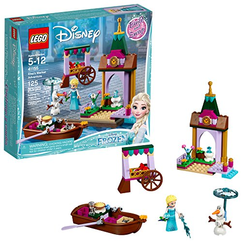 LEGO Disney Frozen Elsa's Market Adventure 41155 Buildable Toy for Girls and Boys ()
