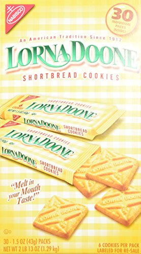 Lorna Doone-Shortbread Cookies, 30/1.50z Packs