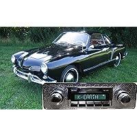 1955-1967 Karmann Ghia KG USA-630 II High Power 300 watt AM FM Car Stereo/Radio with iPod Docking Cable