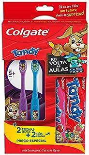 Kit Escova e Gel Dental Colgate Tandy 4 unidades Promo 2 Escovas Dentais e 2 Géis Dentais 50g com Preço Especi