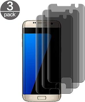 3 Pack] Templado Vidrio Samsung Galaxy S7 Edge, con Filtro de ...