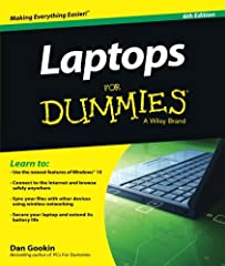 The fast and easy way to get up and running with a laptop Are you new to the world of laptops? You've come to the right place! Laptops For Dummies covers the many topics and issues unique to laptops, including synchronizing with the desktop, ...