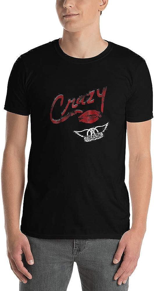 teeofspirit Aerosmith Crazy T Shirt Short-Sleeve Unisex T-Shirt