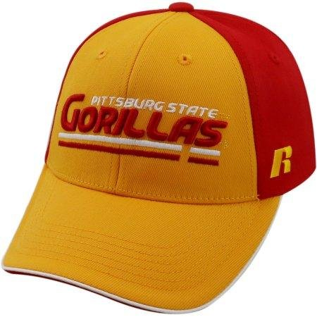 State Cap Pittsburg (NCAA University of Pittsburg State Gorillas Away Two Tone Baseball Hat \ Cap)