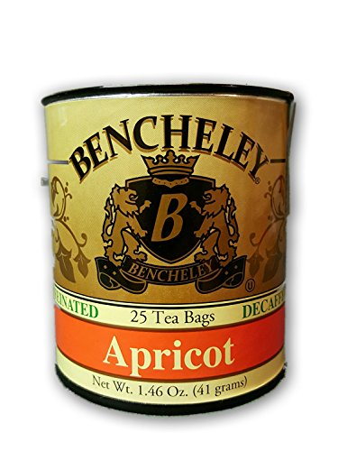 Bencheley Tea Bags Decaf, Apricot, 25-Count