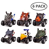 ZHMY Animal Pull back car, 6 PACK 2.8in - Best Reviews Guide