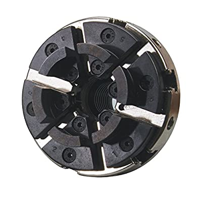 PSI Woodworking BARR6JAW 6 Jaw Heavy Duty Self-Centering Lathe Chuck System