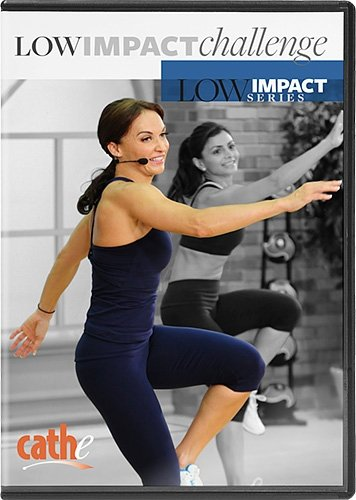 Cathe Friedrich's Low Impact Series: Low Impact Challenge Step Aerobics