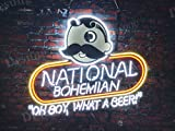 Desung 24''x20'' Natty Boh National Bohemian Neon Sign Light Lamp (VariousSizes) Beer Bar Pub Business Man Cave DC135