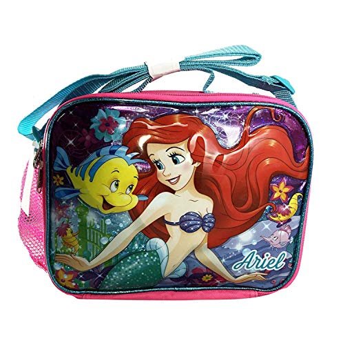 Disney The Little Mermaid Ariel Pink Insulated Lunch Bag