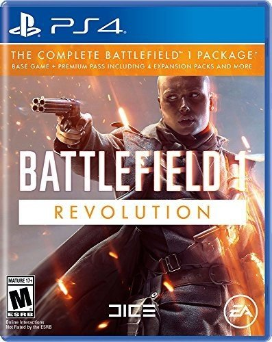Battlefield 1 Revolution Edition - PlayStation 4 (Battlefield Bad Company 2 Ocean Of Games)