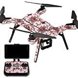 MightySkins Protective Vinyl Skin Decal for 3DR Solo Drone Quadcopter wrap cover sticker skins Flower Crown