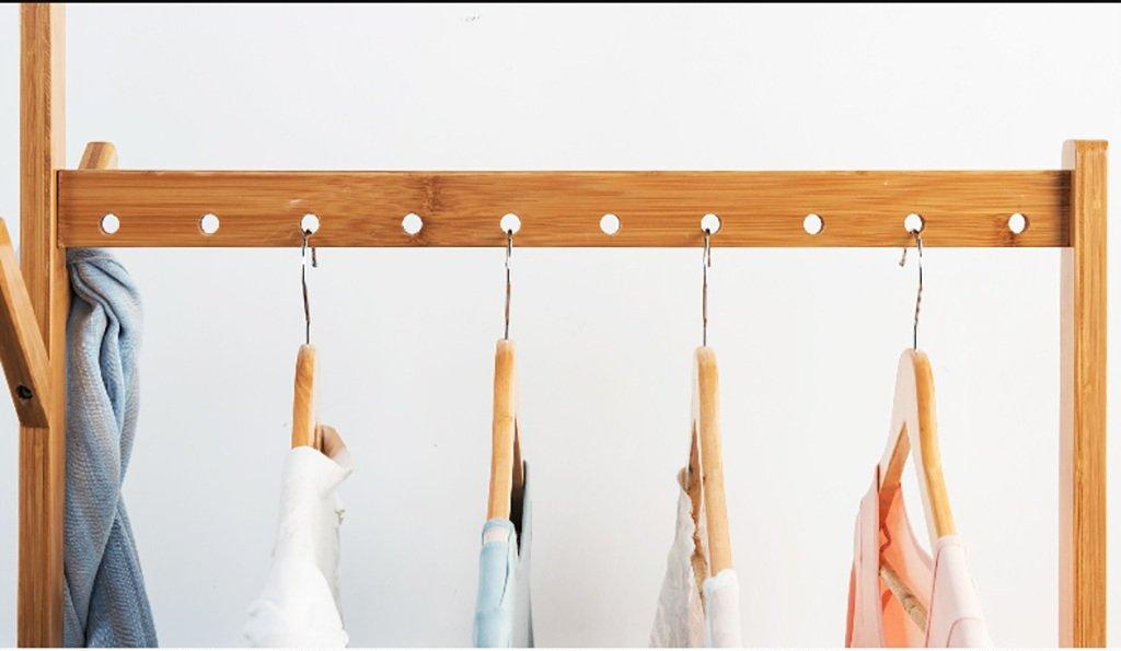 Kleiderständer garderobe garderobe garderobe Aufhänger Boden Kleiderständer Schlafzimmer Massivholz Kleiderbügel moderne minimalistische mobile Racks Montage einfache Kleiderständer garderobe hutablage ( größe   90cm ) 38f30d