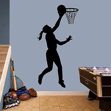 YuanMinglu Baloncesto Jugador Deportes Baloncesto niña Cuarto de ...